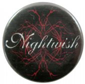 Nightwish - 'Circular Logo' Button Badge